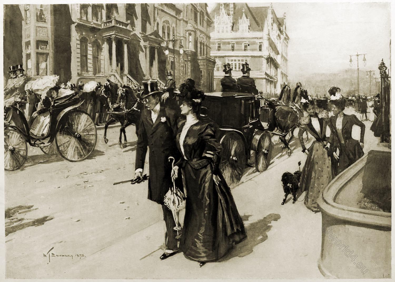 Fifth, Avenue, New, York, William Thomas Smedley