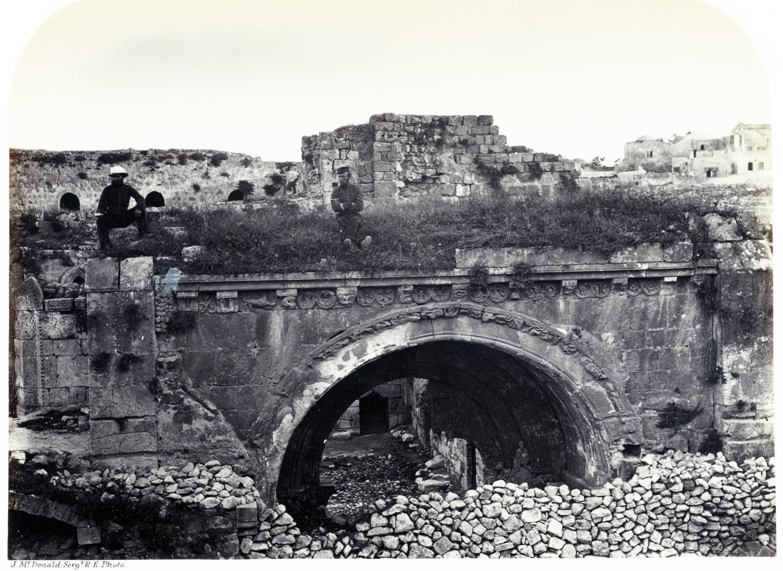 Hospital, Knights, S. John, Jerusalem, Holy Land, James M. McDonald,