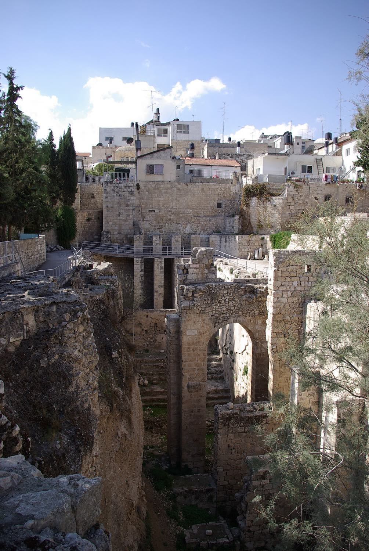 Jerusalem, Bethesda, pool,