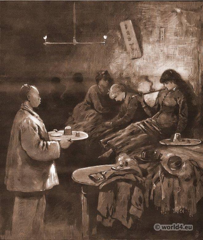 Opium, Den, working, girls, New York,