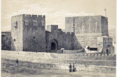 Jerusalem, towers, Phasaelus, Mariamne, Hippicus, Holy, Land, Ermete Pierotti,