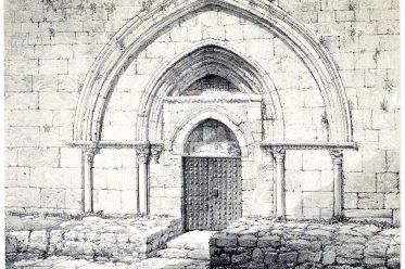 Jerusalem, Tomb, Virgin, Mary, Holy, Land, Ermete Pierotti,