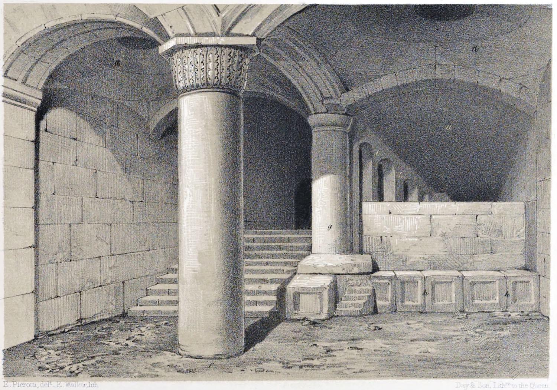 Jerusalem, mosque, Al-Aqsa, monolith, Architecture, Holy, Land, Ermete Pierotti,