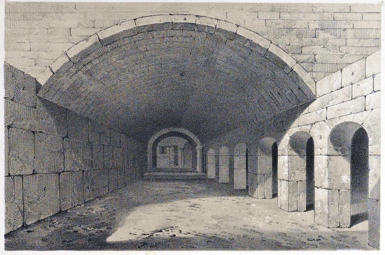 Jerusalem, mosque, Al-Aqsa, monolith, underground, Architecture, Holy, Land, Ermete Pierotti,