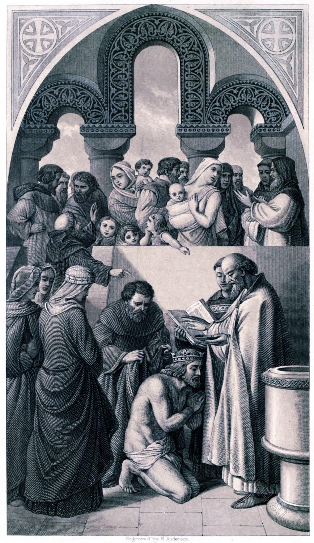 Thomas Archer, baptism, Ethelbert, King, Æthelberht, Canterbury, England, St. Augustine,