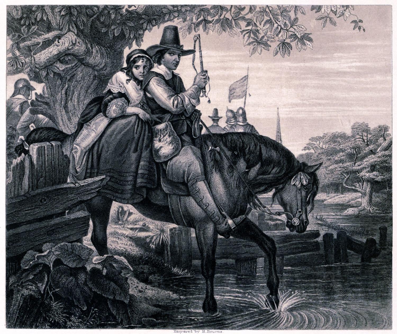 Charles II, escape, Jane Lane, Thomas Archer,