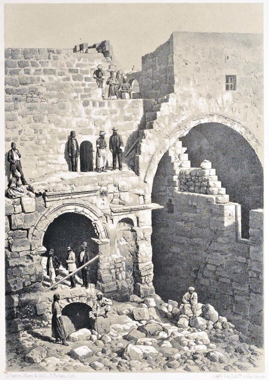 Jerusalem, Ecce-Homo, Architecture, Holy, Land, Ermete Pierotti,