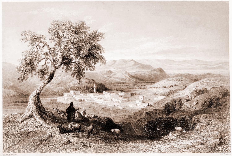 Nazareth, Plain, Esdraelon, Holy, Land, Levante, Israel, Palestine, Henry Stebbing,