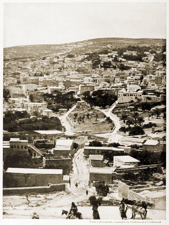 Nazareth, Holy, Land, Levante, Israel, Palestine, Robert Smythe Hichens