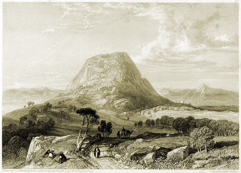 Mount, Tabor, Holy, Land, Levante, Israel, Palestine,
