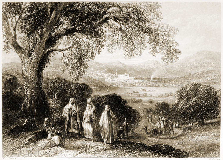 Vale, Nazareth, Holy, Land, Levante, Israel, Palestine, Henry Stebbing,