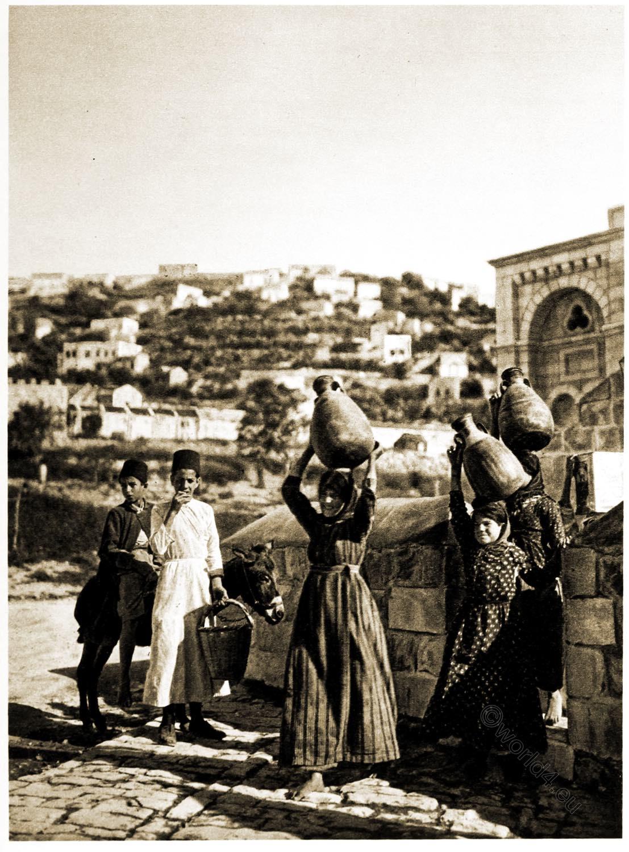 Well, Mary, Nazareth, Holy, Land, Levante, Israel, Palestine,