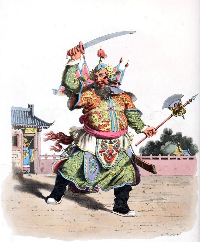 Chinese, comedian, sketch, costume, William Alexander