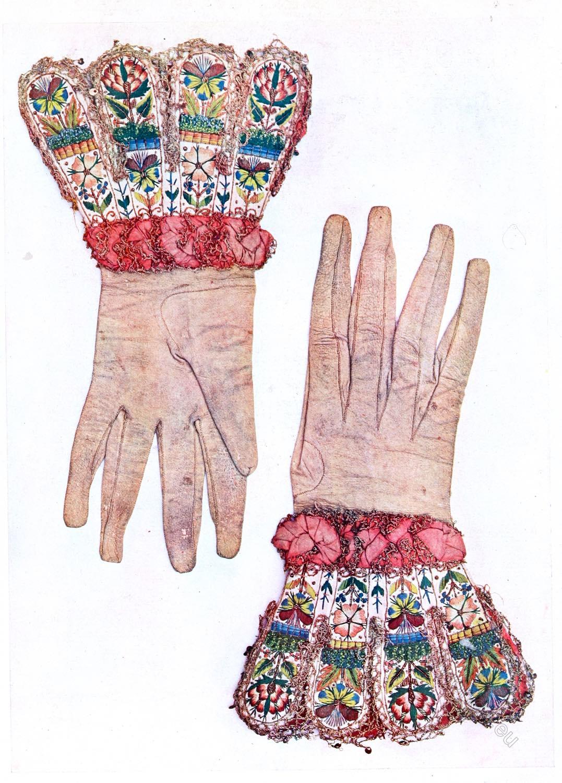 Royal, gloves, Henry VIII, Renaissance, England,