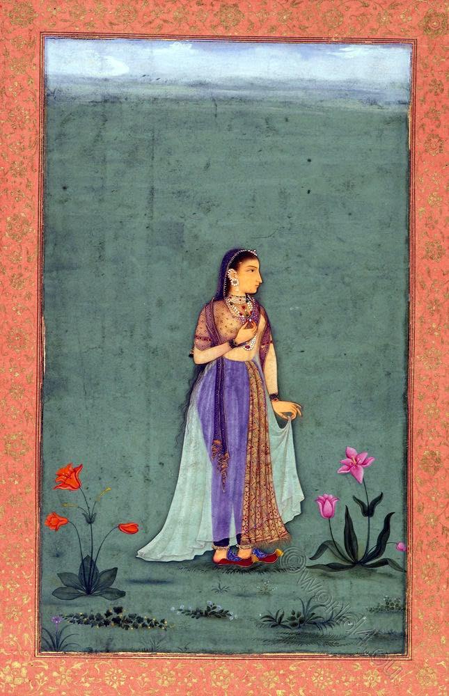 Moghul, Princess, Nadira, Banu, Begum, India,